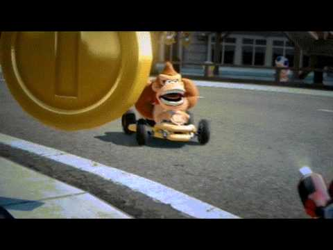 Donkey Kong Goes Metal - Death Yell in Mario Kart 8