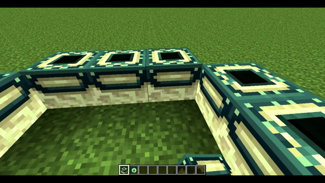 Как сделать блок портал в энд в minecraft