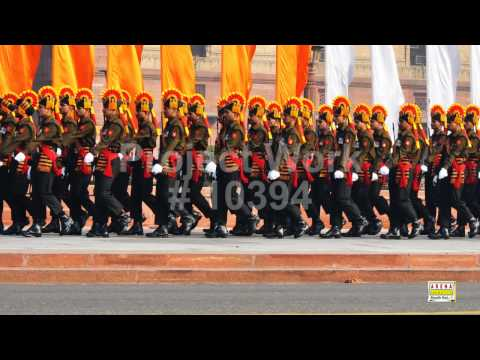 Change of Guard - Rashtrapati Bhavan