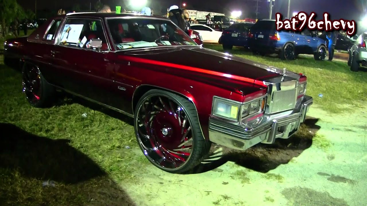 Candy Red 1978 Cadillac Coupe Deville On 30 Quot Asantis