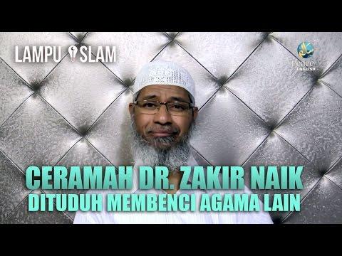 Dr. Zakir Naik Dituduh Menebar Kebencian Pada Agama Lain