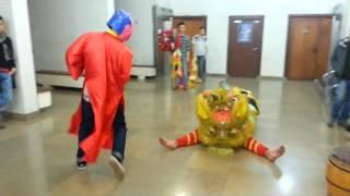 Tập múa lân Tết Giáp Ngọ AEVG 2014 - Lion Dance Trainning Tet Holiday 2014