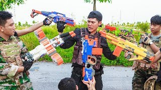 LTT Nerf War : SEAL X Warriors Nerf Guns Fight Criminal Group High Difficulty Task
