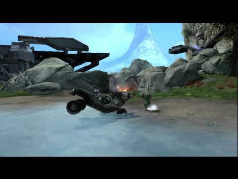 Funny Halo Reach Fails and Laughs 10! -HD