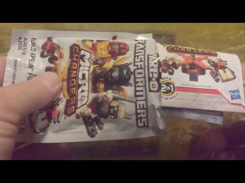 Transformers Lego Kreo MicroChanger Demolisher Unboxing/Review