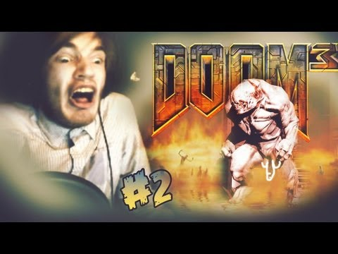 ALL HELL BREAKS LOOSE!... LITERALLY! - Doom 3 - Walkthrough - Part 2
