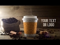 Coffee Shop Video After Effects Template mp3