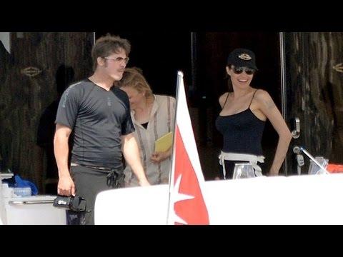 Brad & Angelina Celebrate Their Honeymoon In Malta