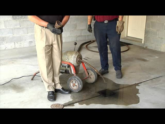 Pittsburgh Plumbing Unclogging a Drain