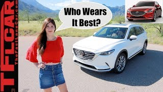 Mazda CX-9 vs Mazda6 Mashup Review: Who Wears it Best?