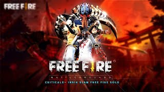 Free Fire Live - FREE FIRE TOURNAMENT ORGANISED BY CRITICAL X