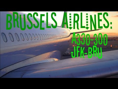 Dantorp Review   Brussels Airlines A330-300 Economy JFK-BRU SN502