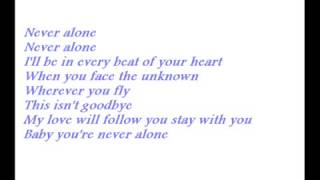Karaoke Never Alone Jim Brickman Ft Lady Antebellum Or Sara Evans