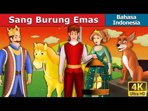 Sang Burung Emas | Dongeng anak | Kartun anak | Dongeng Bahasa Indonesia