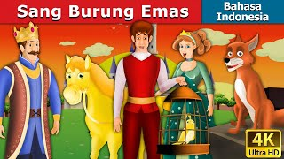 Sang Burung Emas | The Golden Bird in Indonesian | Dongeng bahasa Indonesia | Indonesian Fairy Tales