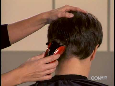 Popular men s hairstyle made easy by Conair - How-to video for business haircut