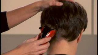 Popular men's hairstyle made easy by Conair - How-to video for business haircut