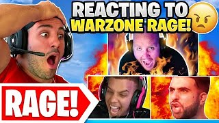 Reacting To The WORST Warzone Rage..😯