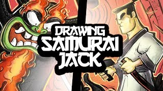 Drawing Old Cartoons! (Samurai Jack)