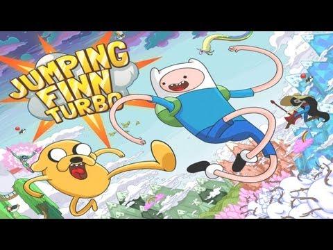 Adventure Time: Super Jumping Finn - Universal - HD Gameplay Trailer
