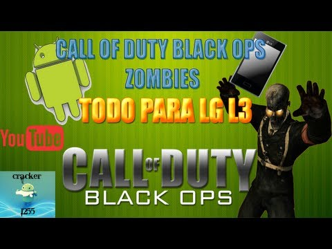 CALL OF DUTY BLACK OPS ZOMBIES PARA LG L3