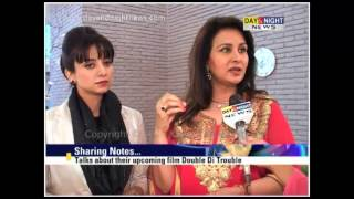 Poonam Dhillon & Kulraj Randhawa in Chandigarh | Punjabi film 'Double Di Trouble'