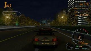 Gran Turismo 3 - Subaru IMPREZA LM Race Car PS2 Gameplay HD