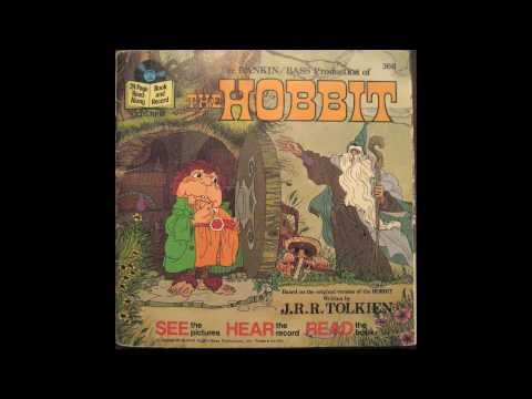 The Hobbit on my Fisher Price record player part1