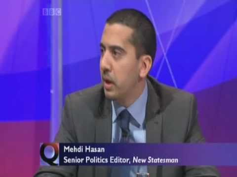 Mehdi Hasan - Question Time part 4 of 6 10.02.11