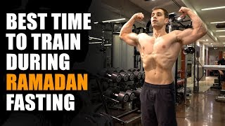 Best Time To Train During Ramadan Fasting