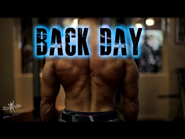 Natural Bodybuilding series 118 : Back Training