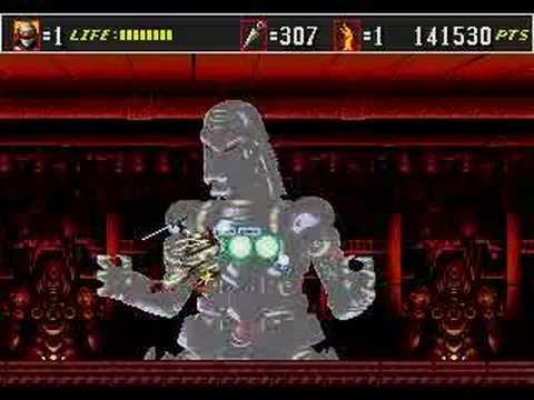 Shinobi 3 Return of the Ninja Master Genesis in 25:04