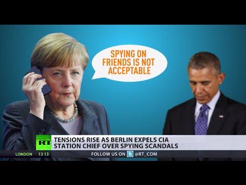 'Spying is a waste of Energy' - Angela Merkel