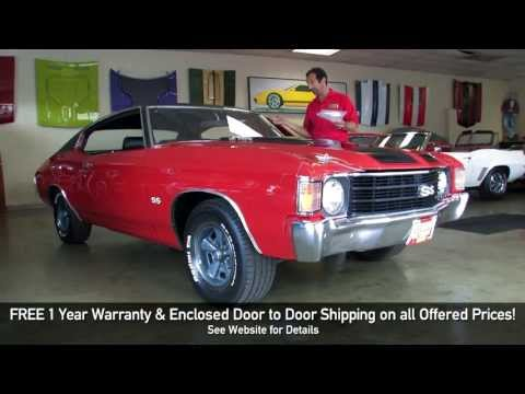 1972 Chevrolet Chevelle SS 396 FOR SALE TEST DRIVE flemings ultimate garage review