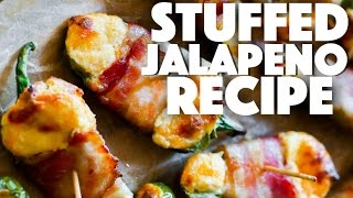 Easy Stuffed jalapenos poppers  - keto recipes - low carb