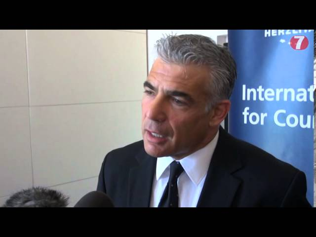 Yair Lapid Calls for the Sane Coalition