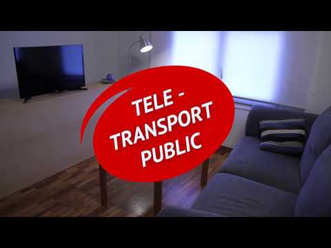 Tele transport public