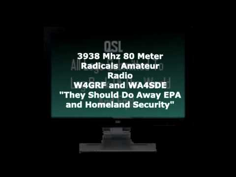 3938 Mhz 80 Meter Radicals Do away with epa