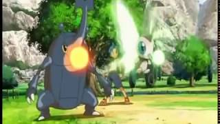 Pokemon Arceus and the Jewel of Life first fight