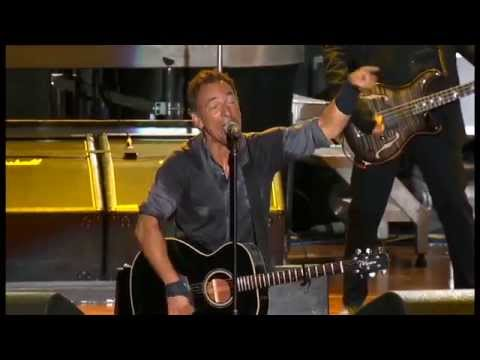 Bruce Springsteen - working on the highway & shackled & drawn - pro shot dallas-  bruce springsteen