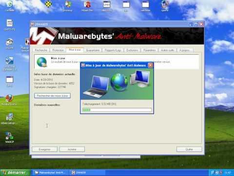 Malwarebyte : tutorial utilisation