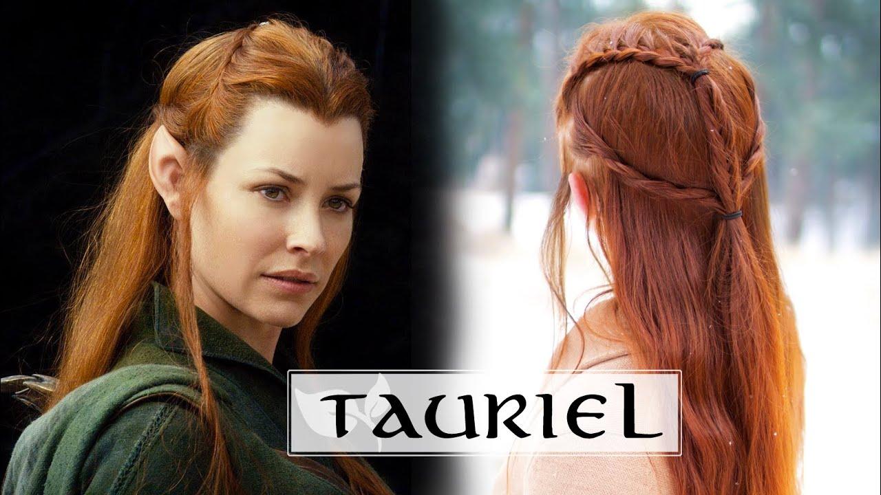 The Hobbit Hair Tutorial Tauriel Youtube
