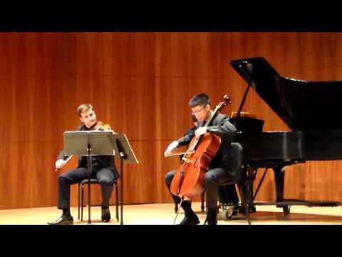 Devin Camp performance At Eastman School of Music 12-11-15