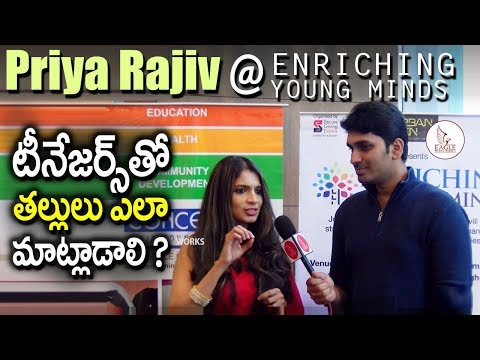 Priya Rajiv At Enriching Young Minds Event in Western Hotel ,Hyderabad | Eagle Media Works