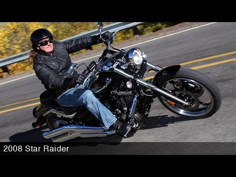 2008 Yamaha Star Raider Motorcycle Review Video