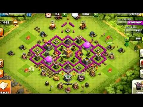 Clash of Clans: BEST town hall level 7 defense setup!  (Plus new series?)