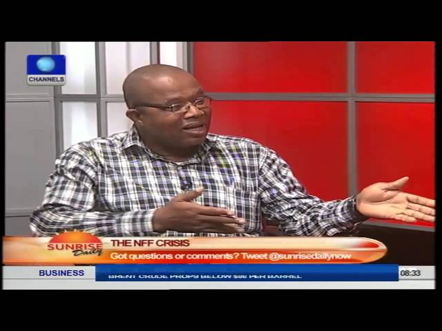 Nigeria's Sports Minister Asked To Intervene In NFF Crisis Part1