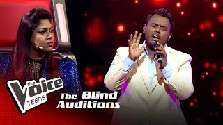 Kasun Punsith | Nomile Dun Nisa  Blind Auditions | The Voice Teens Sri Lanka
