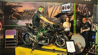 Kawasaki H2 Full Throttle Dyno Run
