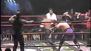 Rey Misterio Jr/Negro Casas/Nicho vs Damian/Halloween/??? (Tijuana 2001)